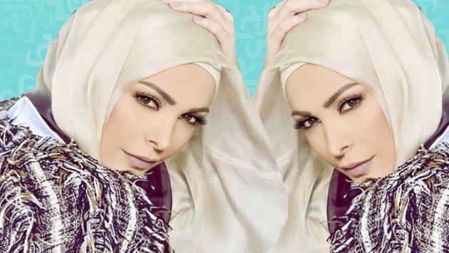 أمل حجازي بحجابها وأنشودتها الدينية حققت انجازاً كبيراً