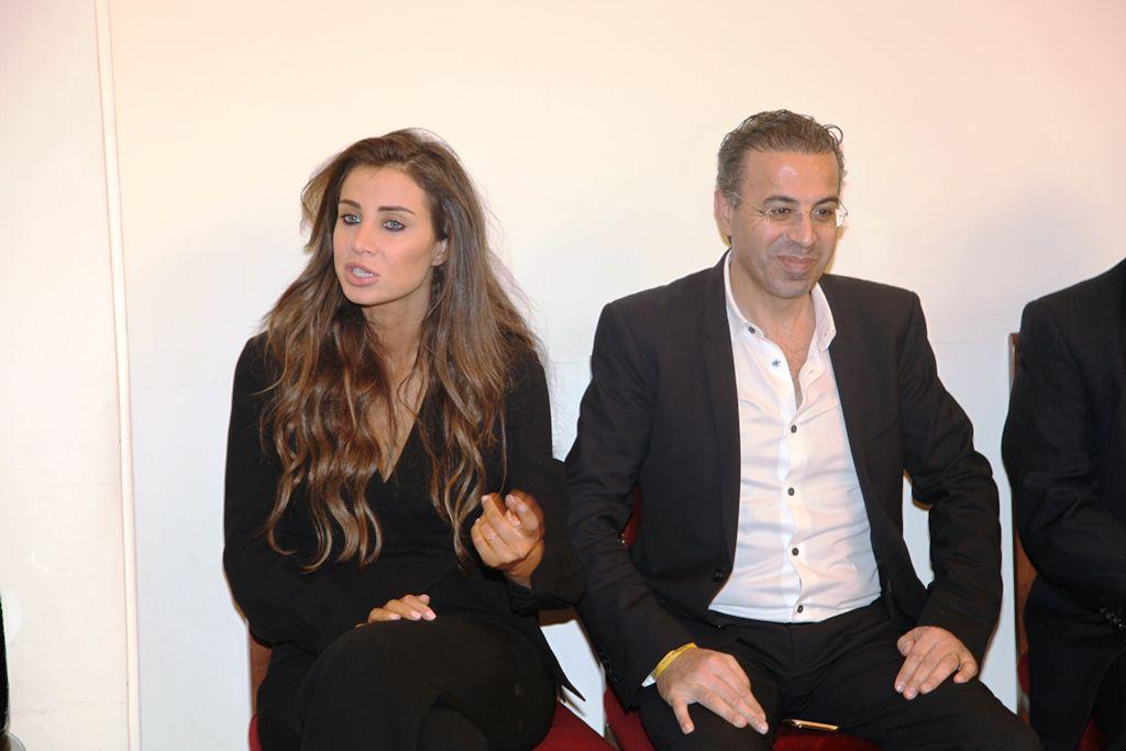 دكتور التجميل الأهم في الوطن العربي نادر صعب وزوجته الإعلامية أنابيلا هلال