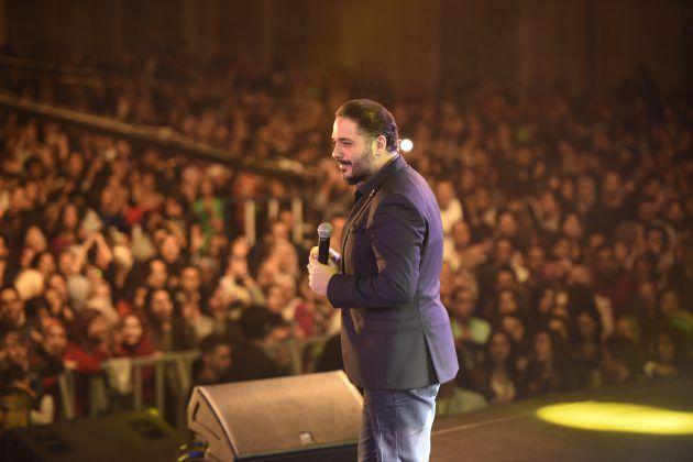 رامي عياش أبهر جمهوره بفقرة غناء رائعة