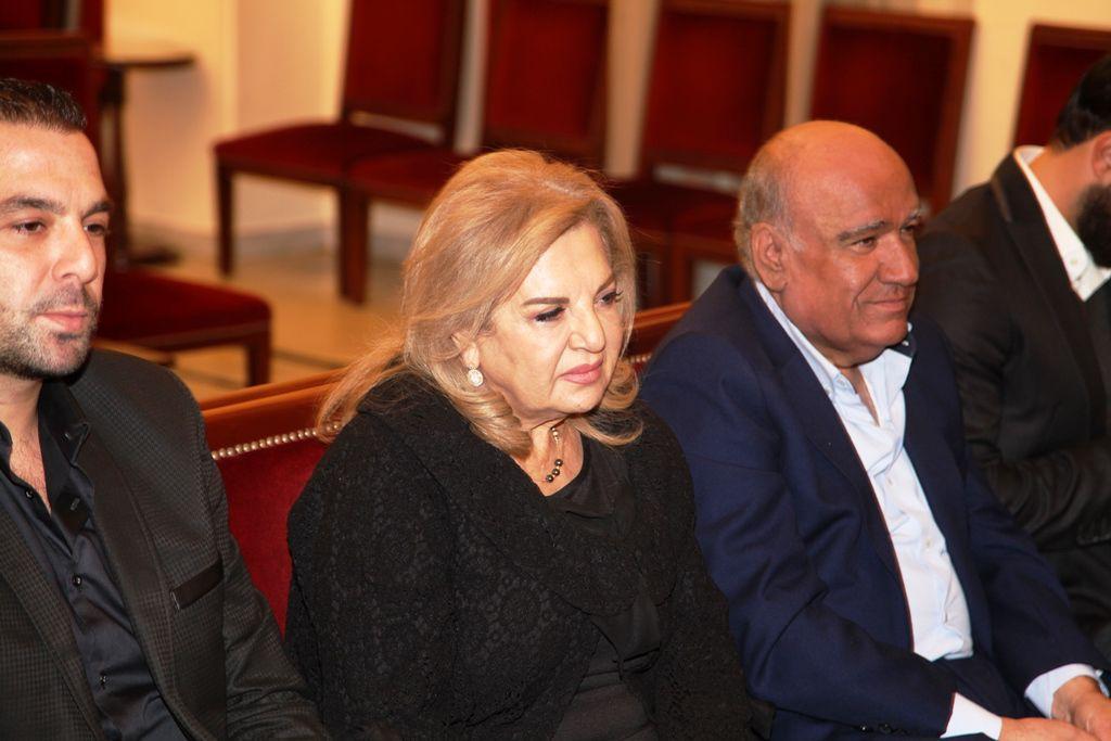 رندة بكرت مع ابنها وعد يواسيان كريستينا صوايا