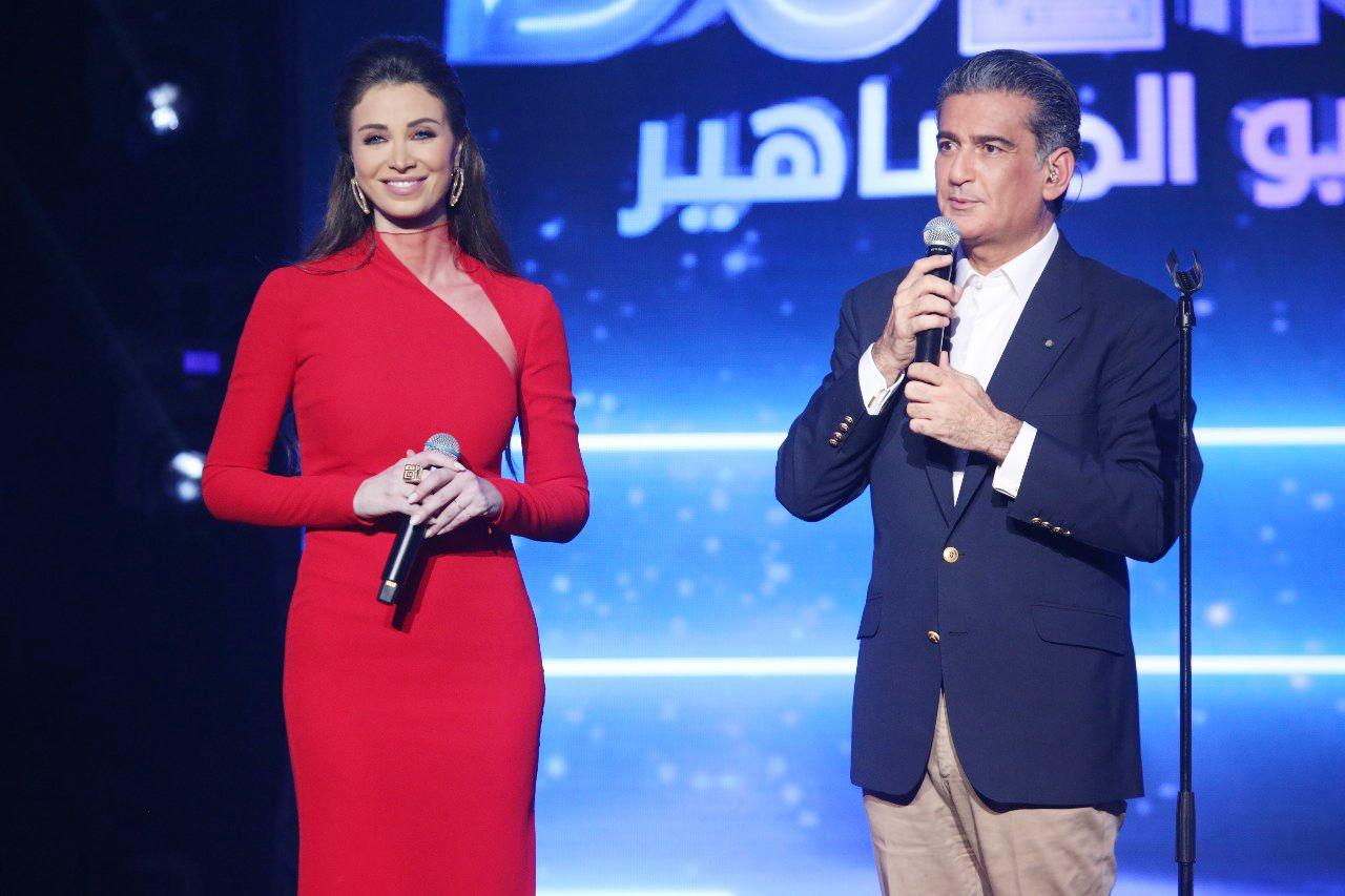 النائب اللبناني السابق مصباح الأحدب وأنابيلا هلال