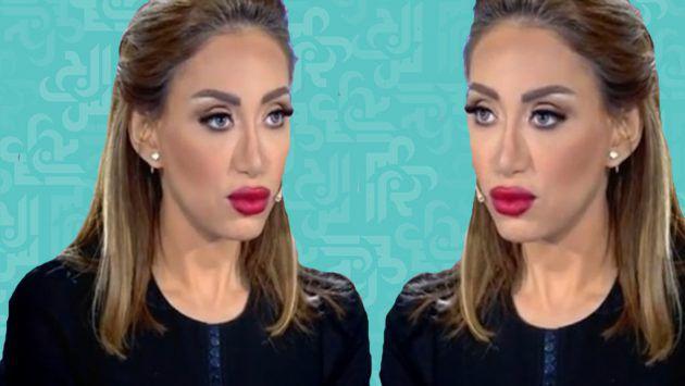 الإعلامية والممثلة المصرية ريهام سعيد