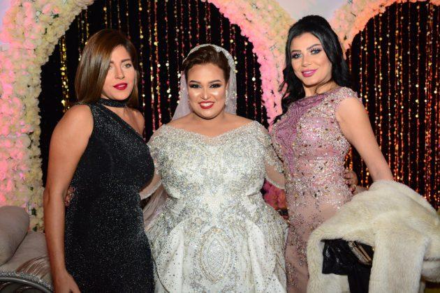 دينا محسن في حفل زفافها