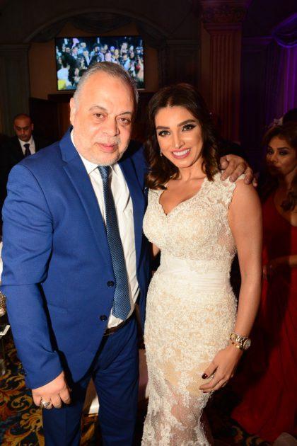 روجينا وزوجها أشرف زكي