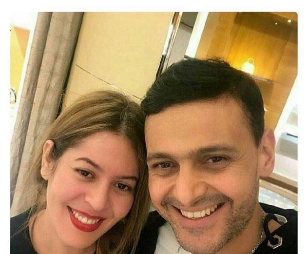 رامز جلال برفقة زوجته