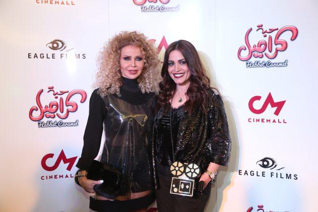 الفنانة اللبنانية رولا سعد والمخرجة رندلى قديح