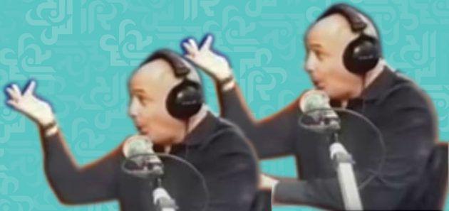مارسيل غانم عندما رفع اصبعه لكل من سعد الحريري وبيار الضاهر