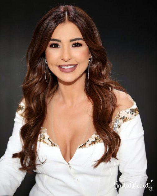 النجمة اللبنانية ماغي بو غصن