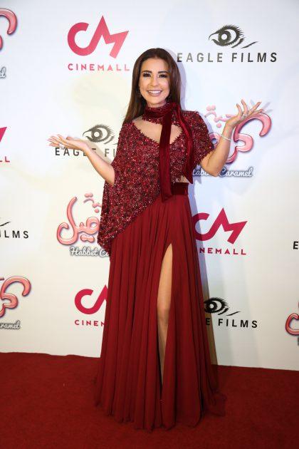 النجمة ماغي بو غصن في حفل افتتاح فيلم (كراميل)
