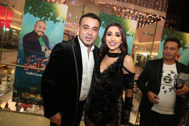 المنتج اللبناني مفيد الرفاعي وجيسي عبدو