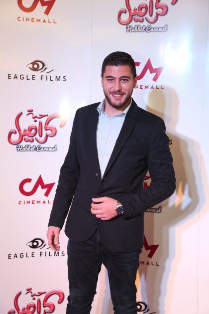 الممثل اللبناني نيكول مزهر
