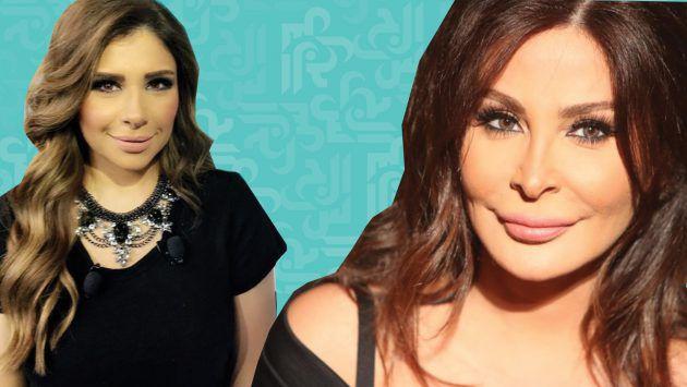 النجمة اللبنانية اليسا والاعلامية سارة الدندراوي