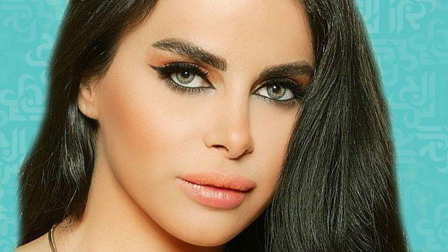 الفنانة اللبنانية ليال عبود