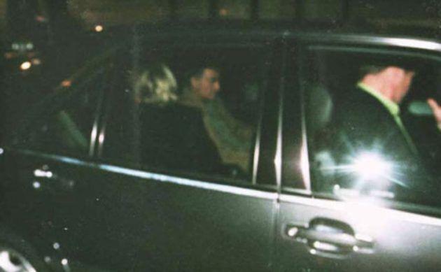 الاميرة ديانا مع حبيبها العربي قبل الحادث بدقائق