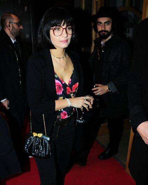 توبا بويوكستون برفقة حبيبها بعد الفيلم