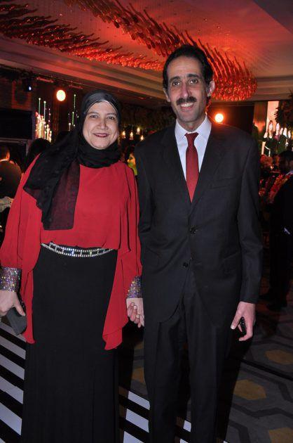 مجدي الجلاد وزوجته
