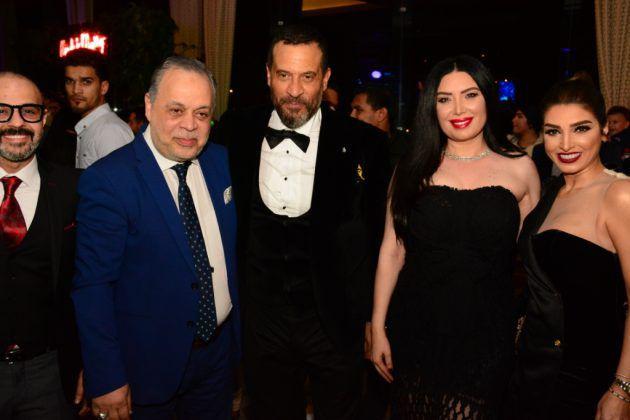 عبير صبري برفقة ماجد المصري وأشرف زكي