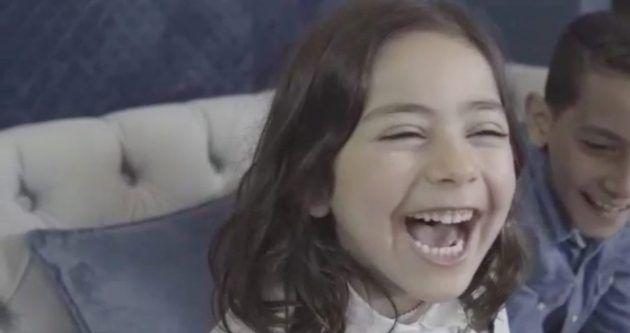 ابنة أمل حجازي لارين سعيدة