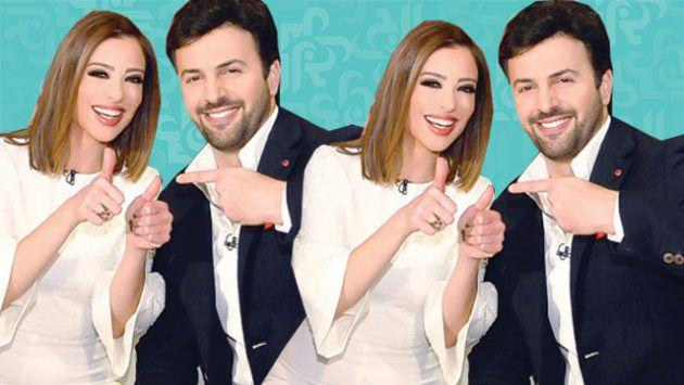 وفاء الكيلاني ليست حامل وتيم حسن مع طفليه