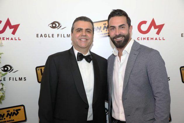الممثل كارلوس عازار والمنتج جمال سنان