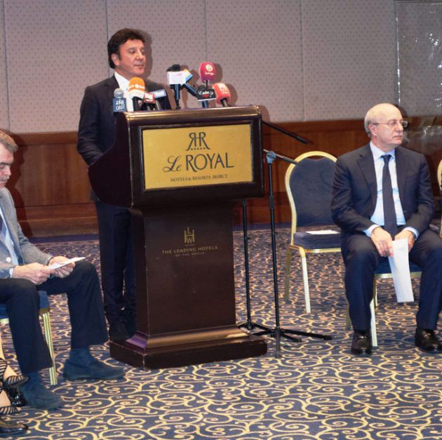 رئيس مهرجان بياف الدكتور ميشال ضاهر