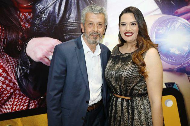 الممثل القدير ناظم عيسى والممثلة اللبنانية لمى مرعشلي