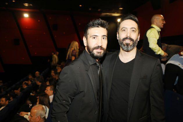 المخرج نبيل لبس والممثل اللبناني وسام صباغ