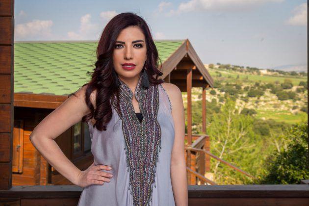 النجمة الأردنية نانسي بيترو