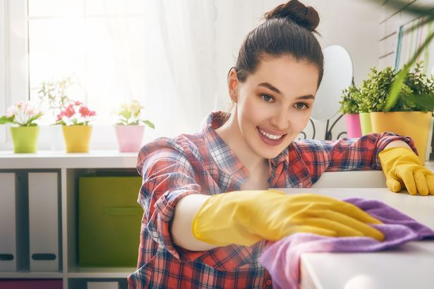 الأعمال المنزلية تساعد على حرق الدهون