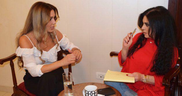الزميلة رئيسة التحرير نضال الأحمدية تحاور أخصائية التغذية د. ماغي تمرز