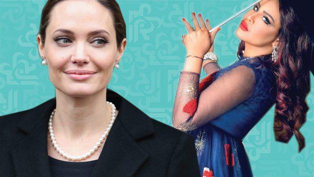 نضال الأحمدية: الفرق بين أنجلينا جولي المتعرية وأحلام المحتشمة