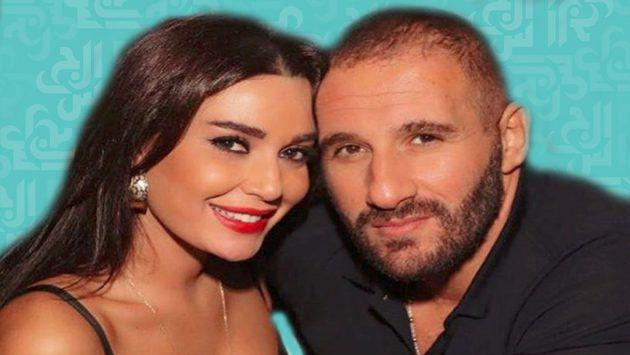 النجمة اللبنانية سيرين عبد النور وزوجها السيد فريد رحمة