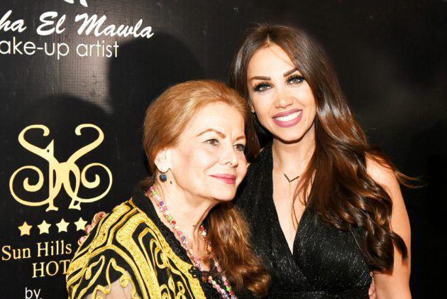 الممثلة اللبنانية الكبيرة نهاد طربيه