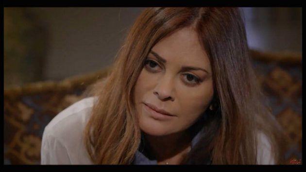النجمة اللبنانية كارمن لبس في لقطة من المسلسل
