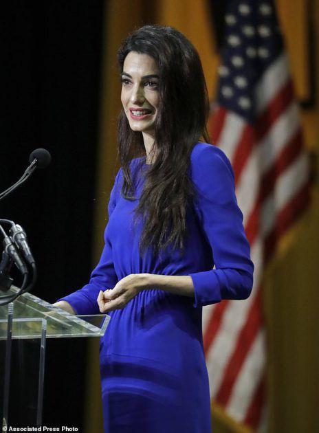 المحامية اللبنانية أمل علم الدين زوجة الممثلة الأمريكي جورج كلوني