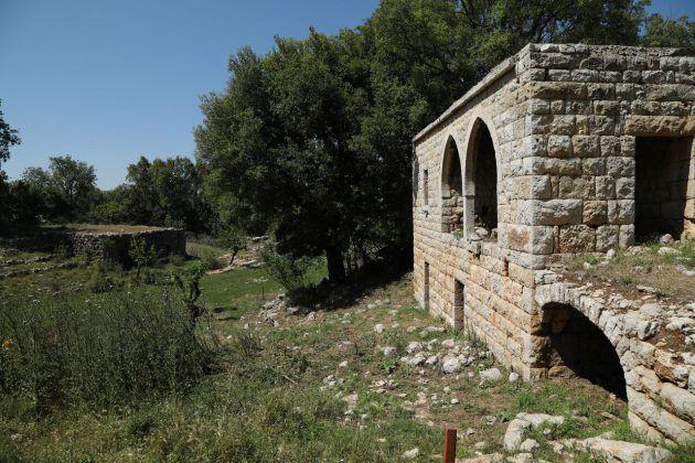آثار مهم في جبل موسى