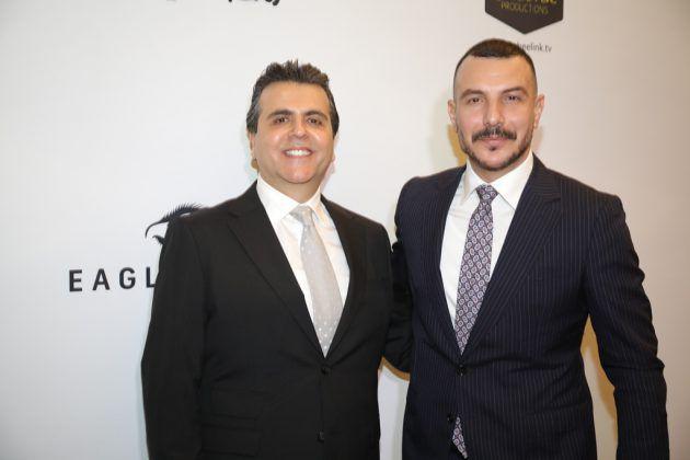 النجم السوري باسل خياط والمنتج اللبناني جمال سنان