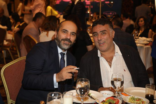 الكاتب المصري تامر حبيب والمخرج السوري رامي حنا
