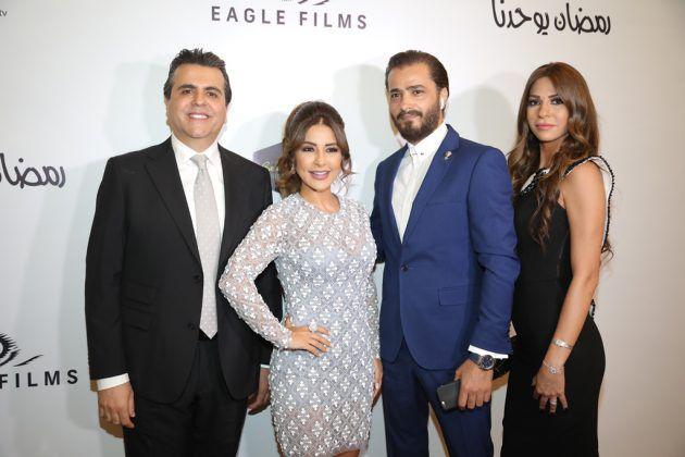 جمال سنان ماغي بو غصن مع الممثلين جيسكار أبي نادر جويل داغر