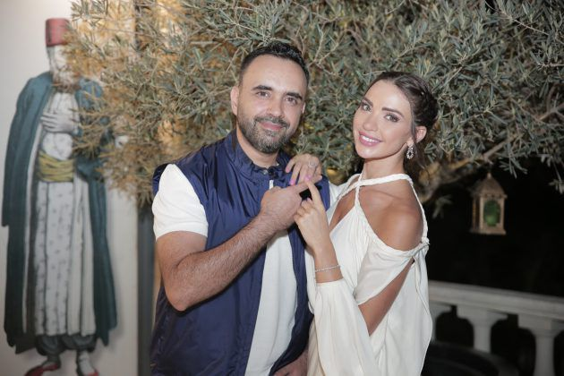 داليدا خليل ورجل الأعمال اللبناني علي الأتات
