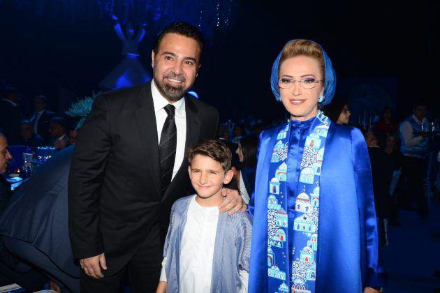 السيدة رندة بري وفارس الغناء العربي عاصي الحلاني