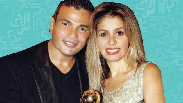 رد زوجة عمرو دياب على صورة ابنتها الجرئية!