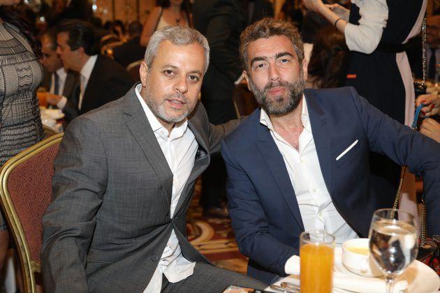 المخرجان اللبنانيان سعيد الماروق فادي حداد