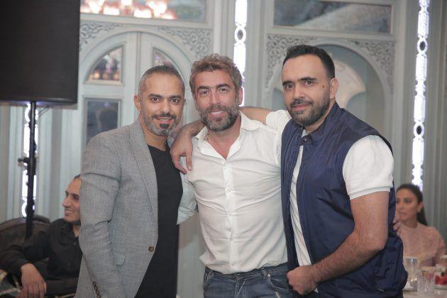 رجل الأعمال اللبناني علي الأتات والمخرج اللبناني سعيد الماروق