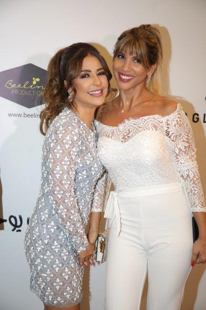 النجمة ماغي بو غصن الممثلة اللبنانية بونيتا سعادة