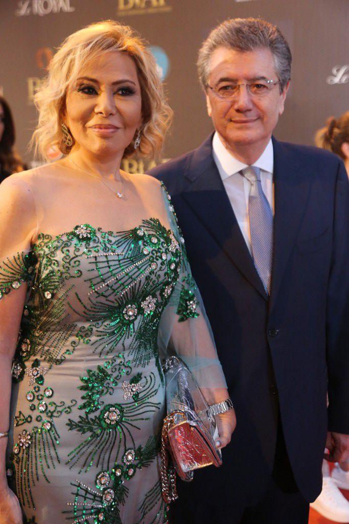 الإعلامية ماغي فرح وزوجها