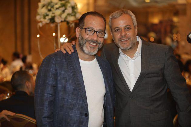 المخرجان اللبنانيان مروان حداد إيلي حبيب