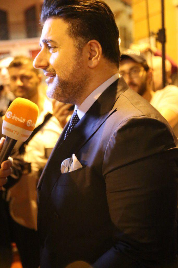 ملحم زين جاء إلى البياف ليكرم وائل كفوري
