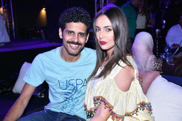 إسراء عبد الفتاح وزوجها حمدي ميرغني