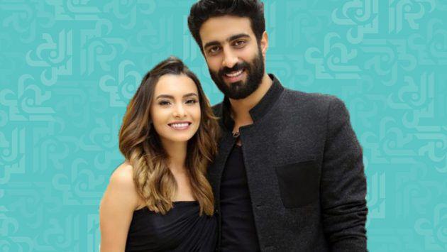 كارمن سليمان وزوجها بوضعية جريئة - صورة
